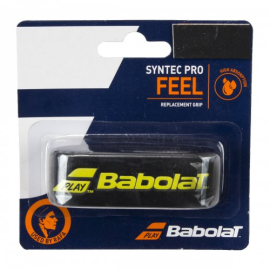 Imagem - Cushion Grip Syntec Pro x1 Preto e Amarelo - Babolat