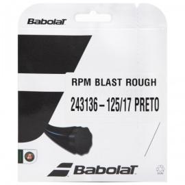 Imagem - Corda Babolat Rpm Blast Rough 1.25 Preta - Set cortado de rolo 12 metros
