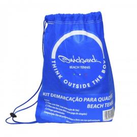 Imagem - Marcação para Beach Tennis 8MX16M com Fixadores - Quicksand