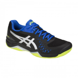 Tênis Gel Challenger 12 Clay Black Silver - Asics 0be2974720c44