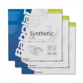 Imagem - Pack c/ 03 Sets Corda Synthetic Gut 17L 1.25mm Branca - Babolat