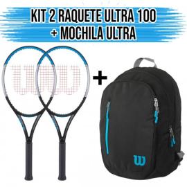 Imagem - Kit 2 Raquetes de Tênis ultra Pro L3 + Mochila Ultra - Wilson