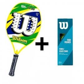 Imagem - Kit Wilson Beach Tennis Brasil