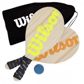 Imagem - Kit Frescobol Mesh C/ Bola - Wilson