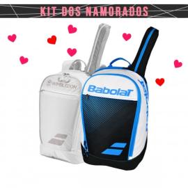 Imagem - Kit Namorados 02 Mochilas Club Wimbledon e Azul - Babolat