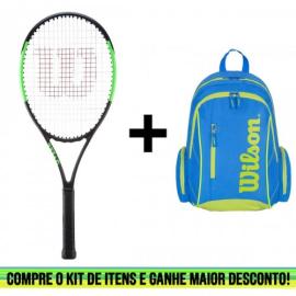 Imagem - Kit Raquete de Tênis Infantil Blade 26 Mais Mochila Advantage II - Wilson