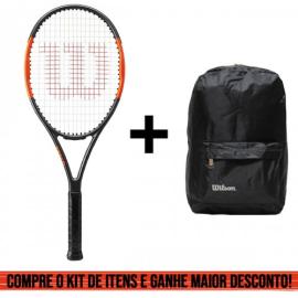 Imagem - Kit Raquete de Tenis Burn Team e Mochila Lazer - Wilson
