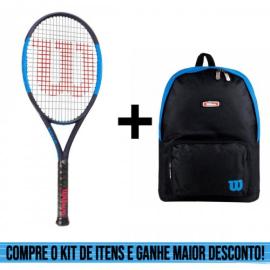 Imagem - Kit Raquete de Tênis Infantil Ultra 26 e Mochila Esp Ix13551 Azul - Wilson