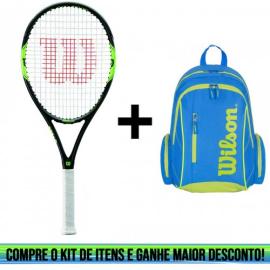 Imagem - Kit Raquete de Tênis Milos Lite Mais Mochila Advantage II - Wilson