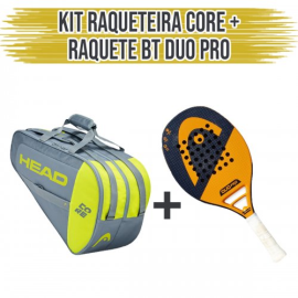 Imagem - Kit Raqueteira Core + Raquete Duo Pro - Head