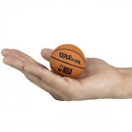 Imagem - Mini Bola de Basquete NBA Dribbler Marrom - Wilson