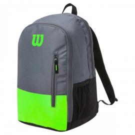 Imagem - Mochila Team Verde e Cinza Modelo 2021 - Wilson
