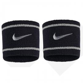 Imagem - Munhequeira Dri-fit Branca e Preta Curta c/ 02 Unidades - Nike