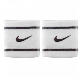 Imagem - Munhequeira Dri-fit Branca e Preta Pequena c/ 02 Unidades - Nike