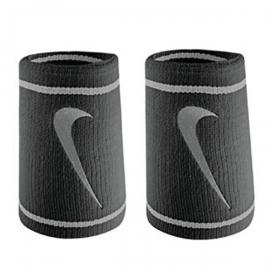 Imagem - Munhequeira Dupla Face Dri-Fit c/ 02 Unidades Preto e Cinza - Nike