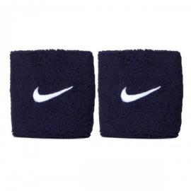 Imagem - Munhequeira Swoosh Azul Pequena c/ 02 Unidades - Nike