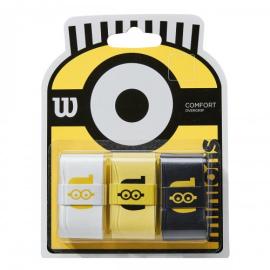Imagem - Overgrip Minions Com 03 Unidades - Wilson