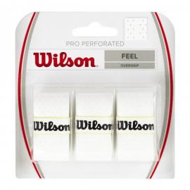 Imagem - Overgrip Perforated Com 03 unidades Branco - Wilson