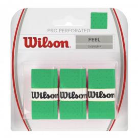 Imagem - Overgrip Perforated Verde Cartela c/ 3 Unid - Wilson