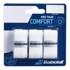 Imagem - Overgrip Pro Tour x3 Branco - Babolat