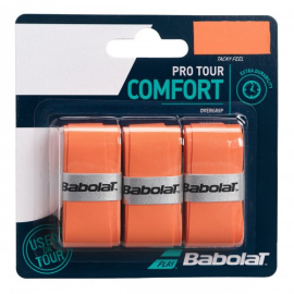 Imagem - Overgrip Pro Tour X3 Laranja - Babolat