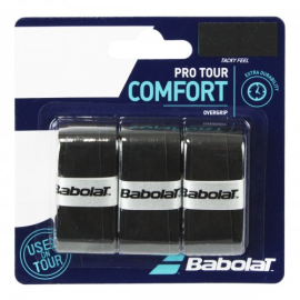 Imagem - Overgrip Pro Tour x3 Preto - Babolat