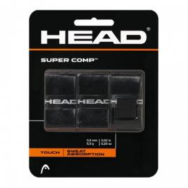 Imagem - Overgrip Super Comp Preto Com 03 Unidades - Head