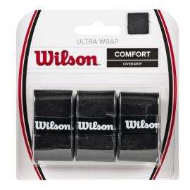 Imagem - Overgrip Ultra Wrap Preto Com 03 Unidades - Wilson