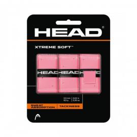 Imagem - Overgrip Xtreme Soft Com 03 Unidades Rosa - Head - OvergripSuperCompPretoCom03Un