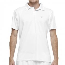 Imagem - Camiseta Polo Core Branca - Wilson