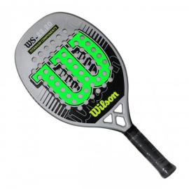 Imagem - Raquete de Beach Tennis WS 22.20 Preta e Verde Modelo 2021 - Wilson