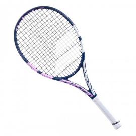 Imagem - Raquete de Tênis Infantil Drive Junior 25 Azul e Rosa Modelo 2021 - Babolat