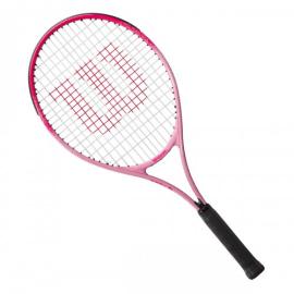 Imagem - Raquete de Tênis Infantil Burn Pink 25 Modelo 2021 - Wilson