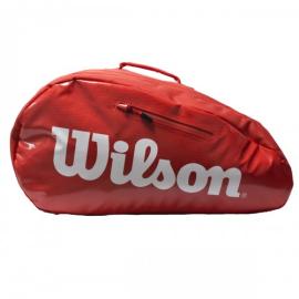 Imagem - Raqueteira de Padel Super Tour Vermelho - Wilson