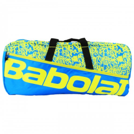 Imagem - Raqueteira Duffle M Azul e Amarelo X6 - Babolat