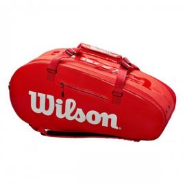 Imagem - Raqueteira Super Tour 9r Vermelha Modelo 2020 - Wilson