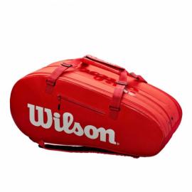 Imagem - Raqueteira Super Tour 15r Vermelha Modelo 2020 - Wilson