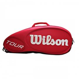 Imagem - Raqueteira Tour Molded 6R Vermelha - Wilson