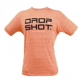 Imagem - Regata Feminina DS Enjoy Coral e Preta - Drop Shot