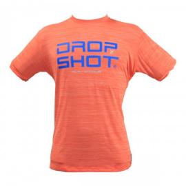 Imagem - Camiseta DS Enjoy Laranja e Azul - Drop Shot
