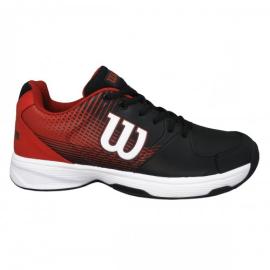 Imagem - Tênis Ace Plus Branco Vermelho e Preto Modelo 2021 - Wilson