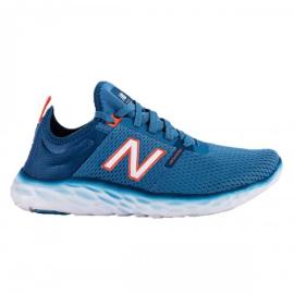 Imagem - Tênis de Corrida Sport Azul Branco e Laranja - New Balance