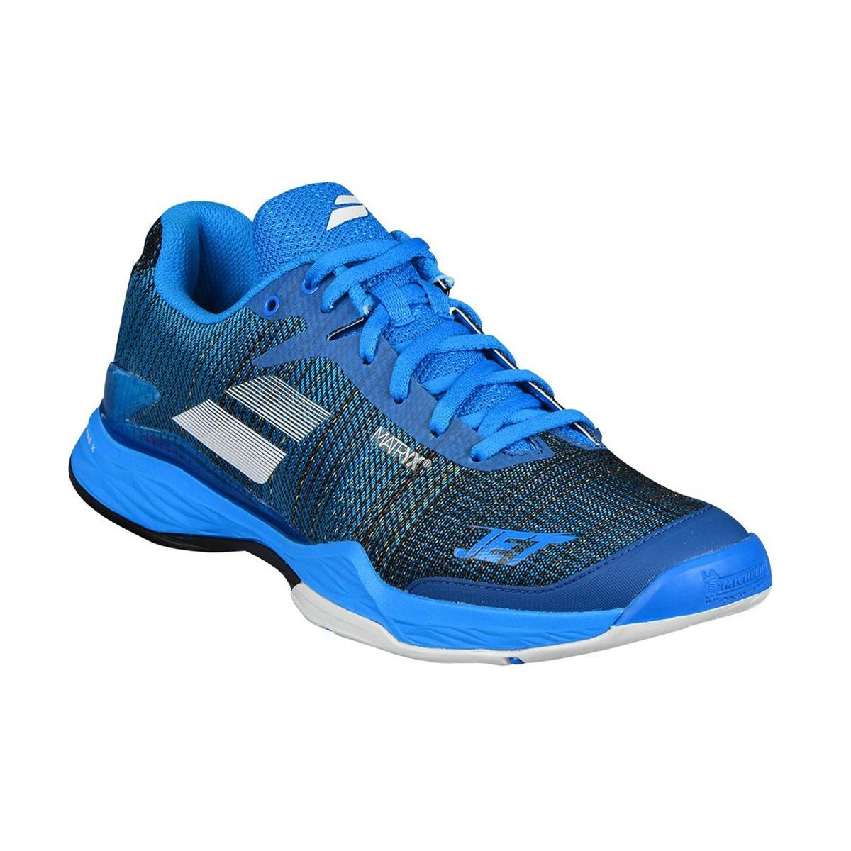 Tenis Jet Mach II All Court Azul e Branco - Babolat a279878492cf3