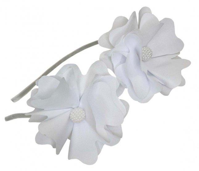 Tiara Infantil com Duas Flores