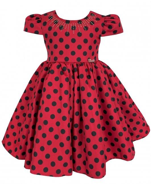 Vestido Infantil Cattai Minnie