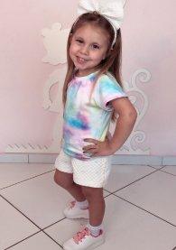 Imagem - Conjunto Juvenil de Shorts Tie Dye