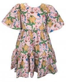 Imagem - Vestido Bata Juvenil Cattai Floral