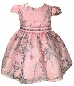 Imagem - Vestido Bebê Cattai de Renda de Flores
