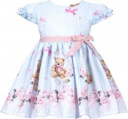 Imagem - Vestido Bebê Cattai Ursos