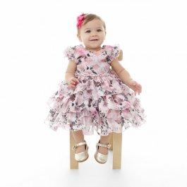Imagem - Vestido Bebê Plinc Ploc Babados